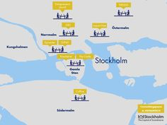 9 new #coworkingspaces in Stockholm! Nice.