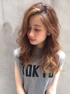 """Image Search Results for Long Curly Hair"""" – Hair Design Ideas Wavy Hair Perm, Long Curly Hair, Long Hair Cuts, Thin Hair Haircuts, Permed Hairstyles, Easy Hairstyles, Asian Hair Wavy, Medium Hair Styles, Curly Hair Styles"""