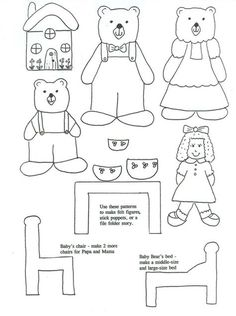 Free finger puppet print outs for many of the classic fairy tales