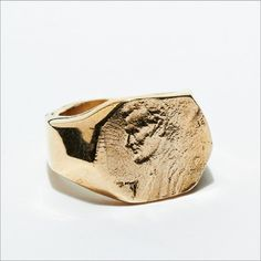 KIEL MEAD LINCOLN RING (GOLD OR SILVER)