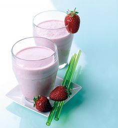 Erdbeer-Kokos-Drink - Vitamine im Glas: frische Drinks - 5 - [ESSEN & TRINKEN]