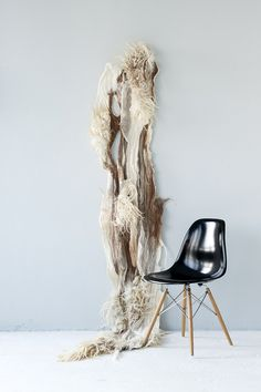 Wallhanging 100% natural felt by The Soft World