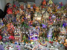 "Michelle Cargle's  Dept. 56 Halloween Village - 2009 - ""The Hollow"""
