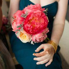 bridesmaid bouquet // photo: Ira Lippke Studios // event planning: Jessica Jakobson