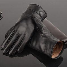 Men's Stylish Leather Gloves