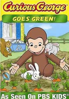 Curious george-goes green (dvd) (eng sdh/dol dig 2.0) children/family New Kids Movies, Family Movies, Pbs Kids, Kids Tv, Frank Welker, George Green, Ty Toys, Target