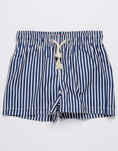 SAILOR BLUE STRIPES BATHING SUIT