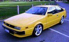 Retro Cars, Vintage Cars, Mitsubishi Ralliart, Japanese Cars, Japanese Rice, Street Racing Cars, Yellow Car, Car Photos, Classic Cars