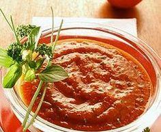 Salsa rosa marroquí - Receta original de myTaste Salsa Rosa, Hot Salsa, Nigella Lawson, Chili, Soup, Pudding, Desserts, Seafood, Food Recipes