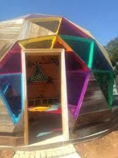 Image result for wooden geodesic dome hub design #shedplans Build A Shed Kit, Diy Shed Kits, Diy Storage Shed Plans, Build Your Own Shed, Wood Shed Plans, Outdoor Storage Sheds, Shed With Porch, Produce Storage, Shed Construction