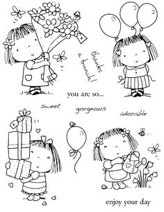 * * * The idea box of the I & # workshop * * *: DIY holidays mom and dad,. - * * * The idea box of the I & # workshop * * *: DIY holidays mom and dad, - Doodle Drawings, Easy Drawings, Doodle Art, Colouring Pages, Adult Coloring Pages, Coloring Books, Scrapbooking Photo, Penny Black Stamps, Digital Stamps
