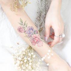 Arm Rose Tattoo