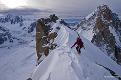 Tim Neill on the Courtes after soloing the Swiss Route  Jon Griffith Photography