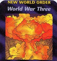 A Three WW scenario was developed several decades ago.  2 World Wars have already been achieved & the 3rd & final WW envisions an attack on Iraq, Iran &/or Syria as being the trigger to set the entire Middle East into fiery conflagration. Once Amer. is firmly entrenched into the Middle East w/ the majority of her first-line units N. Korea is to attack S. Korea. Then w/ Amer.'s forces stretched well beyond the limit,China is to invade Taiwan.  This will usher in the start of WW3.www.