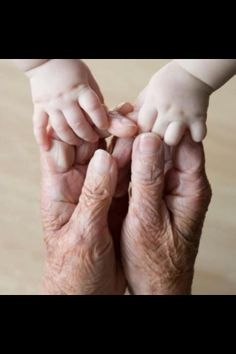 "Previous Pinner said:  ""This is how I remember my grandparents hands."""