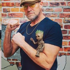 """From Michael Rooker's Facebook and Instagram 1-20-18 """"I'd be out at Sundance with all the other Hollywood elite but me and baby Groot are getting ready for SHOT-SHOW in Vegas baby!"""" #shotshow2018 #sundancefilmfestival #immarypoppinsyall #yondu #gotgvol2 #skillsetmag shotshow https://instagram.com/p/BeKCOglnKTb/"""