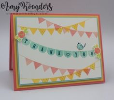 Stampin' Up! Pick a Pennant for the Inkin' Krew Blog Hop – Stamp With Amy K