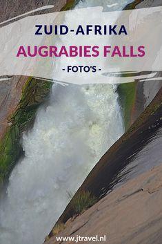 De Augrabies Falls zijn de op zes na grootste waterval ter wereld. Vooral in de maanden maart/april zie je de 56 meter waterval in al haar glorie naar beneden storten. Toen ik hier was, was er niet veel spektakel. Ik vond het ontzettend tegenvallen. Mijn foto's van Augrabies Falls zie je op mijn website. Lees je mee? #augrabiesfalls #waterval #zuidafrika #jtravel #jtravelblog #fotos