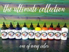 Renaissance Lady Real Milk Paint & Finishes - Unicorn SPiT Gel Stains
