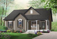 Plan 21717DR: Delightful Cottage Home Plan