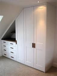 Image result for angled bedroom cabinet wall