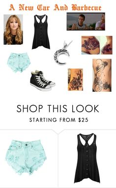 """""""A New Car And Barbecue"""" by emma-frost-98 ❤ liked on Polyvore featuring Levi's, Ultimate and Converse"""