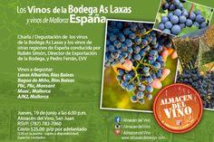 Degustación de Vino: Bodegas As Laxas y Mallorca @ Almacén del Vino, San Juan #sondeaquipr #degustacionvino #bodegasaslaxas #mallorca #almacendelvino #sanjuan