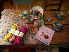 Cours de crochet chez l' Oisivethé Paris by eclectic gipsyland, via Flickr