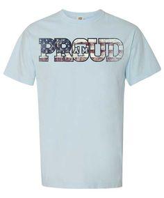 Texas A&M Aggie Proud Flag Comfort Color T-Shirt