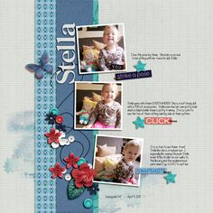 Digital Scrapbook Page Layout by Diane using the All Eyes On You Kits from Pink Reptile Designs at The Lilypad #pinkreptiledesigns #thelilypad #digitalscrapbooking #memorykeeping