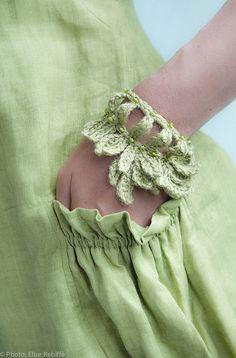 Bijoux au crochet, Jane Quillerat - Fleurus Editions, Paris. ✿⊱╮