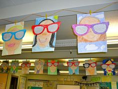 Tales from a Second Year Teacher: Back to School or End of Year Project 2nd Grade Classroom, Art Classroom, School Classroom, Art School, School Ideas, Classroom Ideas, 3rd Grade Writing, 2nd Grade Art, Second Grade