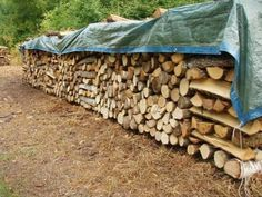 Plus de 1000 id es propos de tas de b ches sur pinterest bois de chauffag - Ranger du bois de chauffage ...