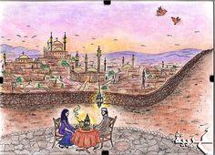 Obrázky - Kresba - Ghrub La Yunsa