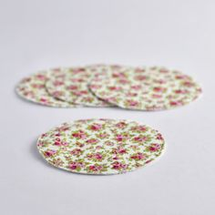 handmade accessories and pretty things Handmade Accessories, Bunt, Pretty, Design, Drink Coasters, Handmade, Products, Cotton, Decorations