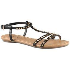 b61b55a93fcd Call It Spring™ Deherrera Studded Flat Gladiator Sandals - Flat Gladiator  Sandals