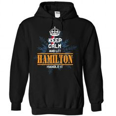 0710 Keep Calm and let HAMILTON Hanlde It - #groomsmen gift #gift card. GUARANTEE => https://www.sunfrog.com/Valentines/0710-Keep-Calm-and-let-HAMILTON-Hanlde-It-Black-Hoodie.html?68278