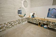 Arcana Tiles | Sestiere Collection | wall tiles | ceramic wood | ceramic patchwork | interior design inspiration Hardwood Floors, Tile Flooring, Porcelain Tile, Interior Design Inspiration, Wall Tiles, Art Pieces, Restaurant, Modern, Scrappy Quilts