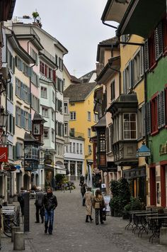 Photograph Zurich by Király Sébastien. Our tips for 25 fun things to do in Switzerland: http://www.europealacarte.co.uk/blog/2012/02/13/what-to-do-in-switzerland/ #travel