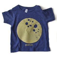 Good Day and Goodnight set navy and gray tees by mamacaseprints