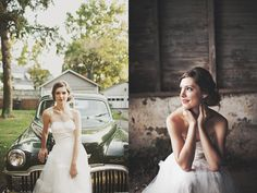 love simple posing for a bride!
