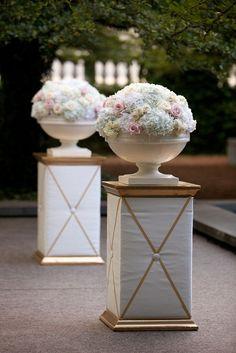 Pink and Gold Candlelit Chicago Wedding Full of Elegance: http://www.modwedding.com/2014/10/10/pink-gold-candlelit-chicago-wedding-full-elegance/ #wedding #weddings #wedding_ceremony