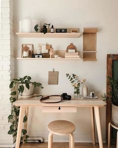Home Office Space, Home Office Design, Home Office Decor, Office Ideas, Office Spaces, Work Spaces, Office Inspo, Office Setup, Dorm Desk Decor