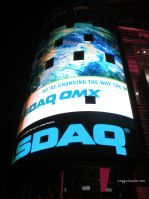 Nasdaq Tower in Times Square
