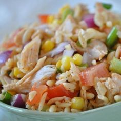 Mexican Chicken Orzo Salad   Best Chicken Recipes   The Daily Meal