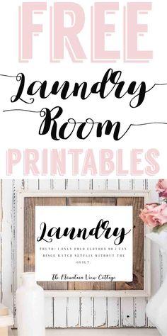 laundry room printable-free farmhouse printables-laundry room quote-laundry room sayings-funny laundry room