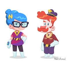 Dr.Newton Mobile Game: Character Designs and Art