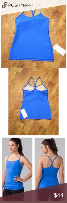 NWT Lululemon Power Y Tank • Size 10 NWT Lululemon Power Y Tank • Size 10  Our sweat-wicking, four-way stretch Luon® fabric is cottony soft—we love this high-performance fabric for its serious stretch and recovery in all our sweaty pursuits  sweat-wicking four-way stretch cottony-soft handfeel quick recovery naturally breathable lululemon athletica Tops Tank Tops