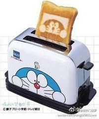 Awesome! Doraemon toast!