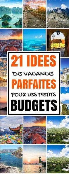 Oui, vous devrez probablement payer le billet d'avion plus cher, mais si vous choisissez judicieusement votre destination de vacance, vous dépenserez beaucoup moins pendant votre séjour. Dans cet esprit, voici quelques endroits incroyables où partir en voyage / vacance avec un petit budget. Il est impératif de faire des recherches au préalable pour économiser de l'argent. Découvrez ces 21 idées de vacance / voyage à faire avec un petit budget. #voyage #voyagerseule #vacances #destination